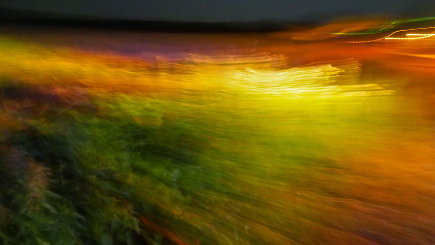Night landscape EyeEmNewHere Night Light Night Light Photography Night Lights Night Photography Night Light Show Nightphotography Paint The Town Yellow Unfocused Photo Abstract Backgrounds Beauty In Nature Blurred Motion Motion Multi Colored Nature Night Night Landscape Night Lighting Night Lightings No People Outdoors Scenics Unfocused Yellow