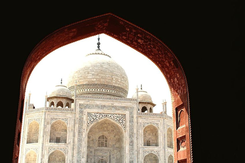 Photography #photo #photos #pic #pics #tagsforlikes #picture #pictures #snapshot #art #beautiful #instagood #picoftheday #photooftheday #color #all_shots #exposure #composition #focus #capture #moment Taj Mahal Agra - India WahTaj Taj Dome Architecture Travel Destinations Arch Tourism No People Outdoors Day