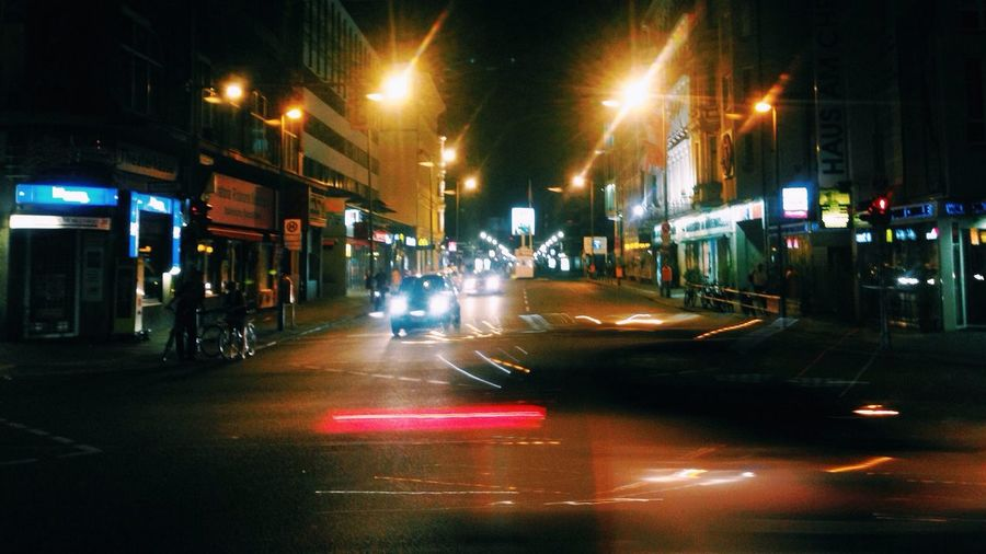 Street Photography Soistberlin  Night Lights I ❤ BERLIN