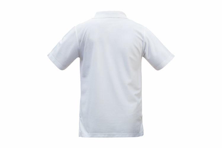 Shirts against white background