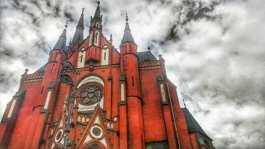 Church @lucky_hdr HDR Poland Lucky_hdr Badweatherornot Clouds Red Cloud Architecture Nature Landscape Princely_shotz Marvelshots Phographer Mobilephotography Photoshooting Photo Photooftheday Instaphoto