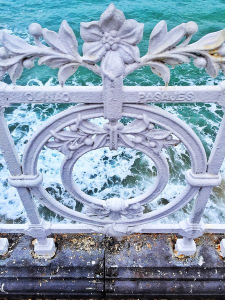 barandilla concha Barandilla Barandilla Concha Metallic Sea White Color Ornement Horizon Over Water Coast Ocean Calm