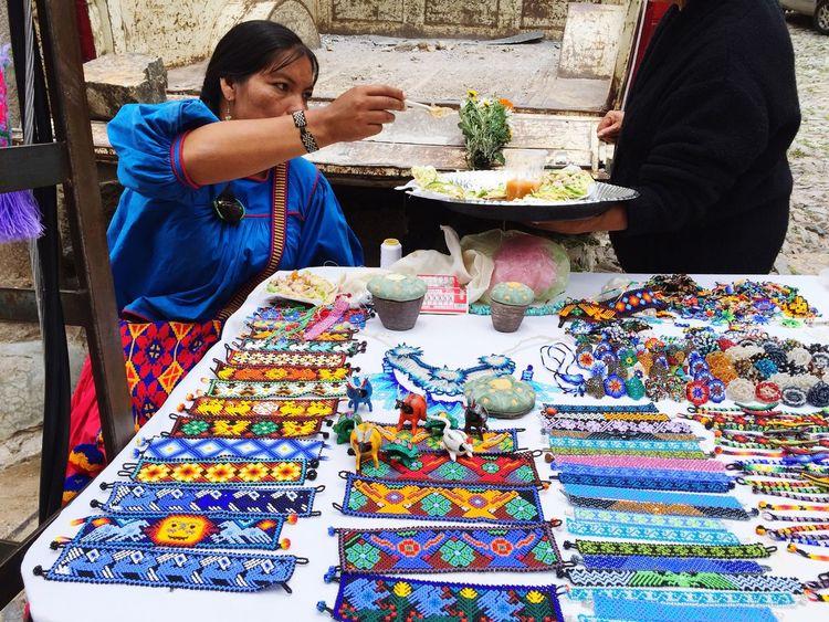 Huichol Huicholes Huichol Art Real De Catorce