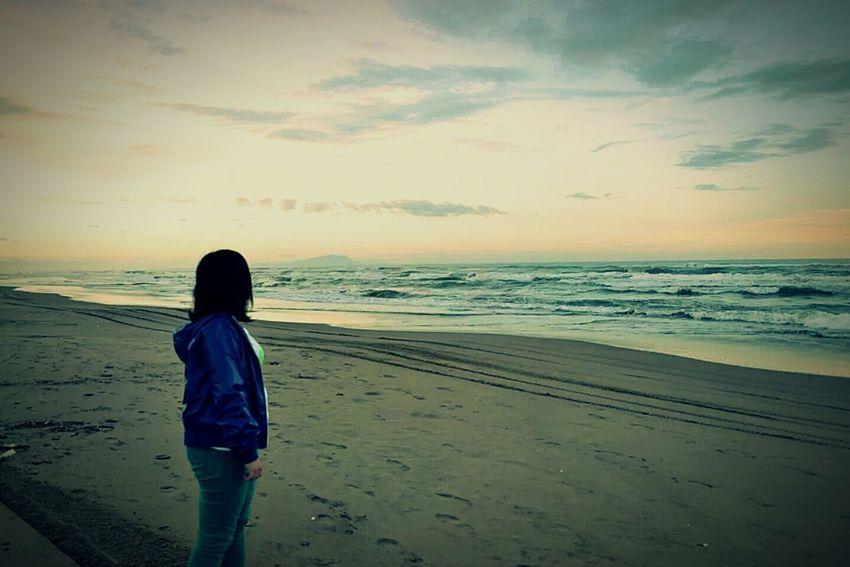 A Day With A Friend Mondragone Beach Italy Sea Seaside Summer2013
