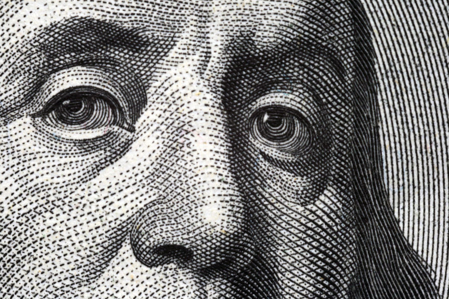 eyes of President Franklin America Banknote Close-up Currency Day Eye Finance Franklin Full Frame Indoors  Money No People Paper Paper Currency Pattern President Rich USA Wealth
