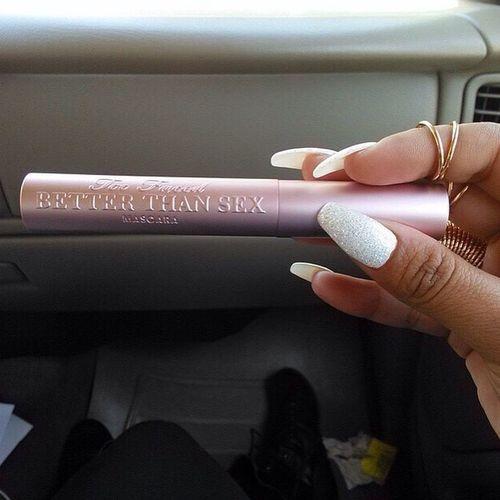 Glamour Fashion Shopping Car Style Makeup Mascara Pink Nails Betterthansex