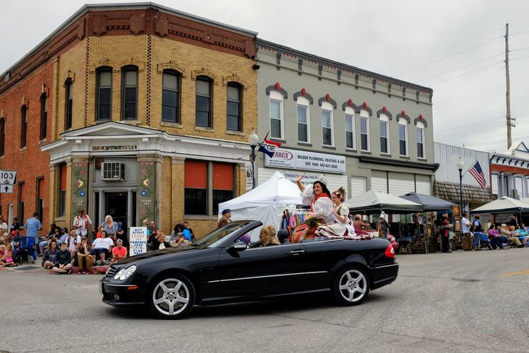 56th Annual National Czech Festival - Saturday August 5, 2017 Wilber, Nebraska Americans Camera Work Celebration Czech-Slovak Event FUJIFILM X100S Getty Images Nebraska Photo Essay Small Town America Storytelling Visual Journal Wilber, Nebraska Adult Architecture Building Exterior Built Structure Car Culture And Tradition Cultures Czech Days Czech Festival Day Documentary Land Vehicle Large Group Of People Men Outdoors Parade People Photo Diary Real People Sky Small Town Stories Transportation Women