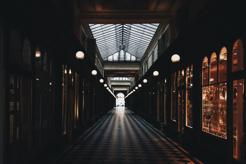 Paris Hallway Architecture