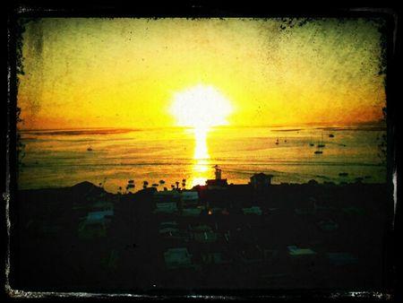 Por do Sol no cimo do Farol