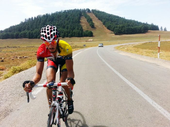 Mountains Cycling Training Road Bike