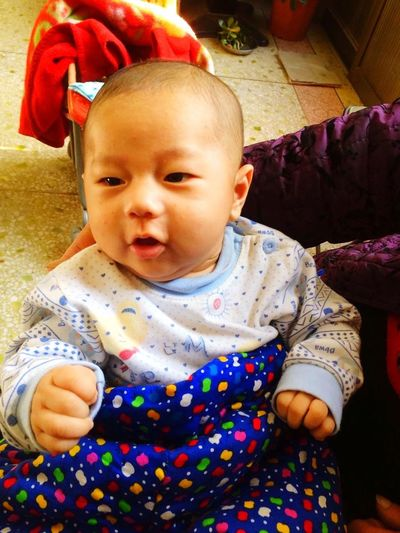 My son, 2months Son First Eyeem Photo
