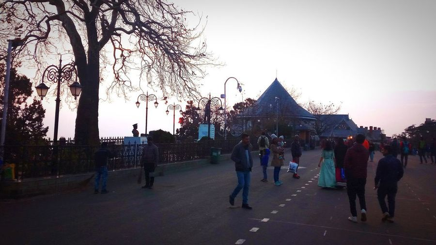 An evening in simla....