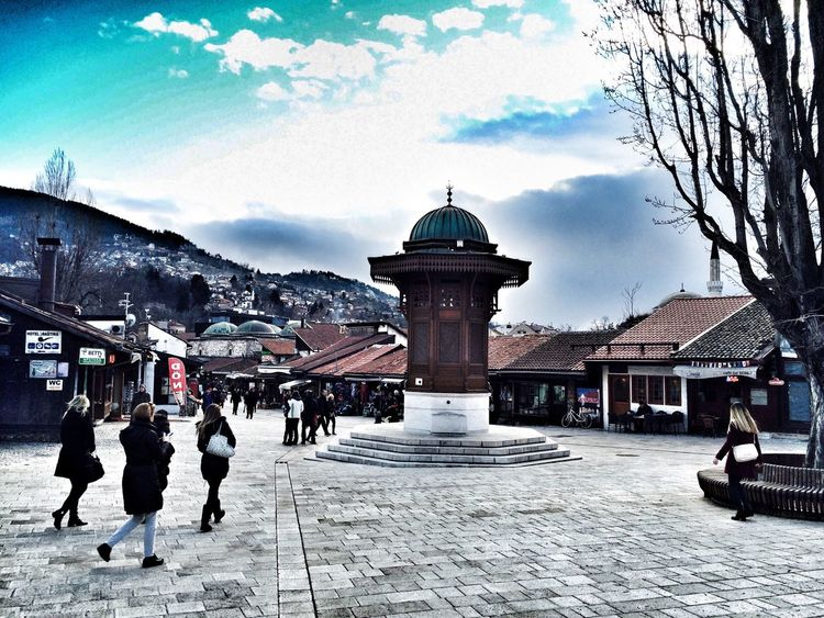 Check This Out Hi! Taking Photos Hello World Bascarsija Bosnia And Herzegovina Sarajevo