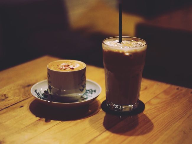 Coffee date Warmandcoldcoffee Hotcoffee Hotdrinks Colddrinks Icecappuccino Roselatte Cafelatte Latte Drink Table Food And Drink Refreshment Indoors  Coffee - Drink No People