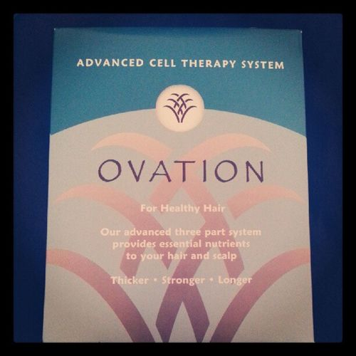 Gonna see if this really works lol Ovation Hair Hairtherapy