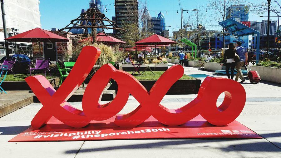 XOXO Sculpture