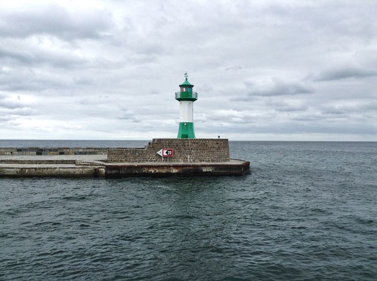 Lighthouse Harbour Rügen Insel Rügen Sassnitz The Traveler - 2015 EyeEm Awards