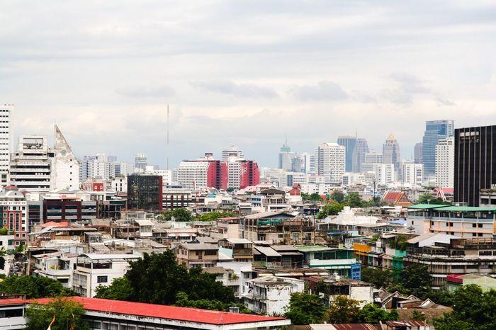 Bangkok Bangkok Thailand. Asian  City Holiday Sightseeing OverviewPoint Overview