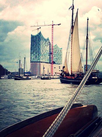 Elbphilharmonie Sailing Hafengeburtstag Johanna Von Amrum