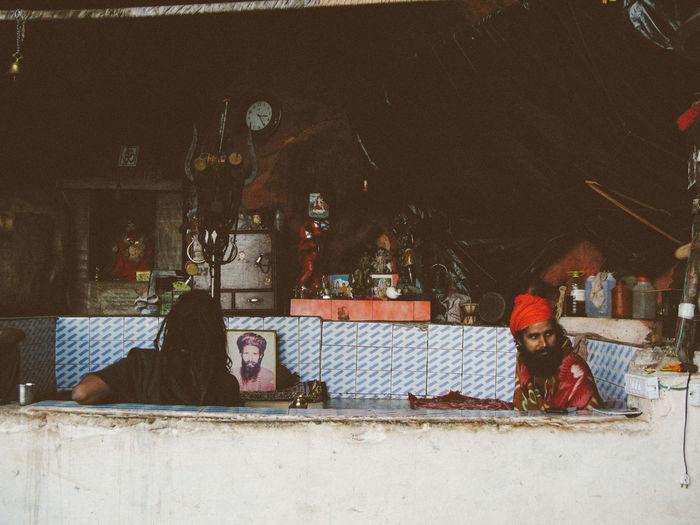 Indoors  India