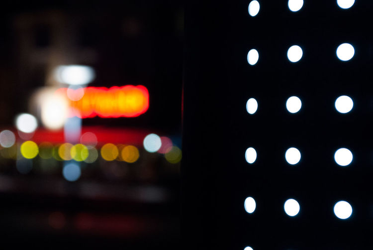"""""""Le luci della città"""" Abstract Photography Abstractions In Colors City Lights Circles Close-up Defocused Illuminated Lighting Equipment Night No People Outdoors Technology Urban Urban Lights EyeEmNewHere"""