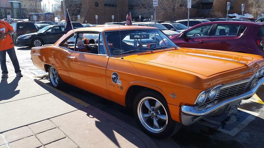 BroncosCountry Broncos Car Impala Bright Orange Denver Colorado