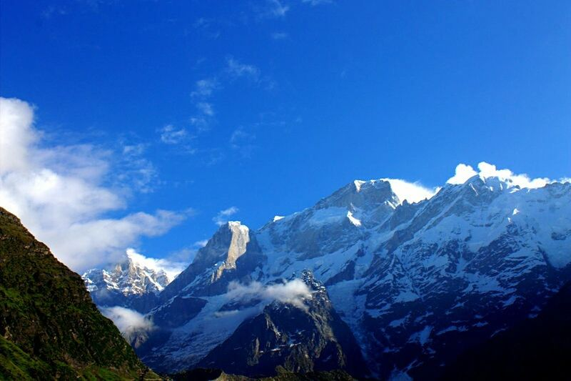 Moutains Himalayas Kedarnath Clouds And Sky Beautyofnature