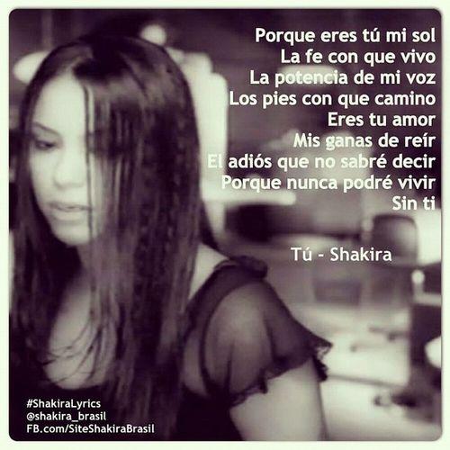 ShakiraLyrics - Tú