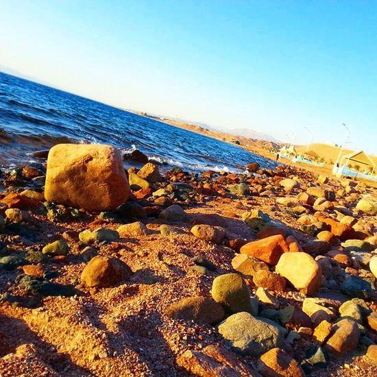 Landscape Sunset Sea Beatifull Beach Rocks