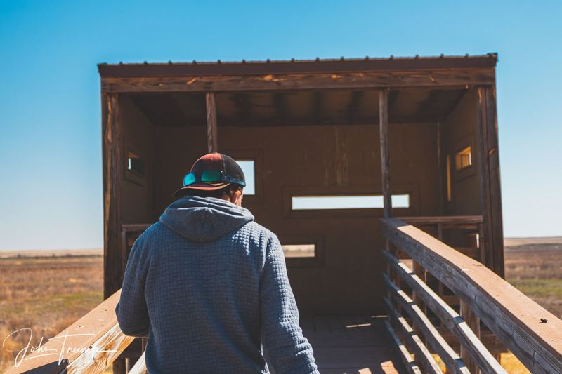 EyeEm Selects Architecture Rear View One Person Lifestyles Clothing Leisure Activity