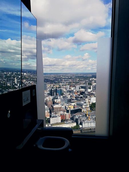 Done That Cityscape City Cloud - Sky Architecture Modern Looking Through Window High Angle View Window Skyscraper Sky Building Exterior Sea Travel Destinations Aerial View Day No People Urban Skyline Outdoors Water An Eye For Travel