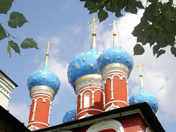 Ouglitch Russian Church Dome Tree Sky Architecture Outdoors Day