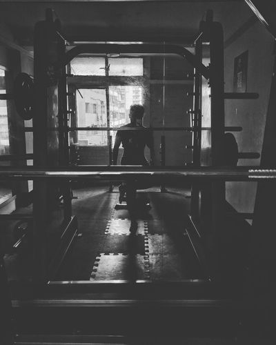 Gym Time Workout No Pain, No Gain Mobile_Street_Photography That's Me