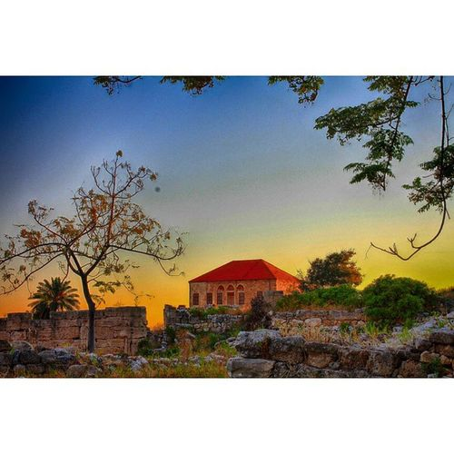 Byblos in HDR Sunset Lebanon CradleofCivilizations RamiMPhotography