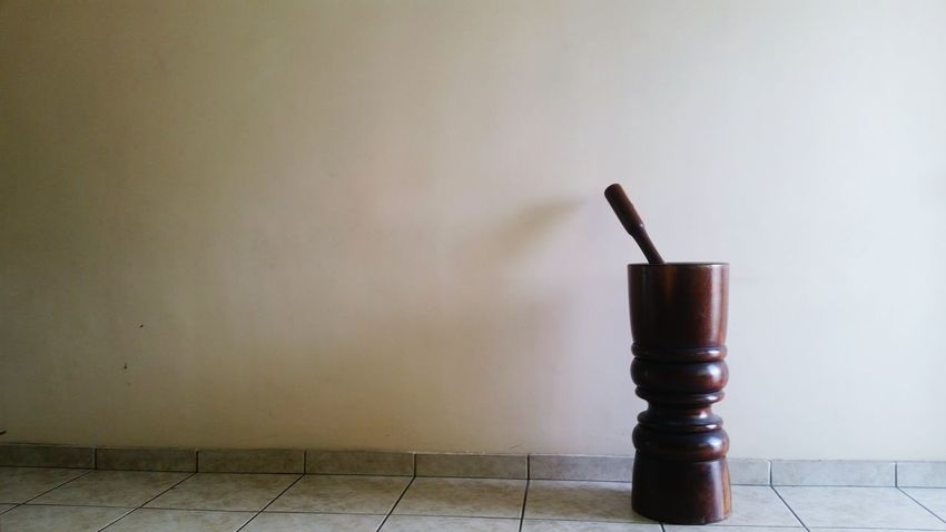 No People Lieblingsteil Pilao Pestle Pounder Wooden Pestle