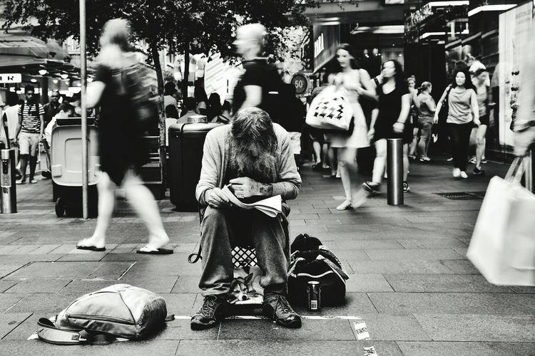 Homless Homeless Dogs Homeless Man Black And White Blackandwhite Photography