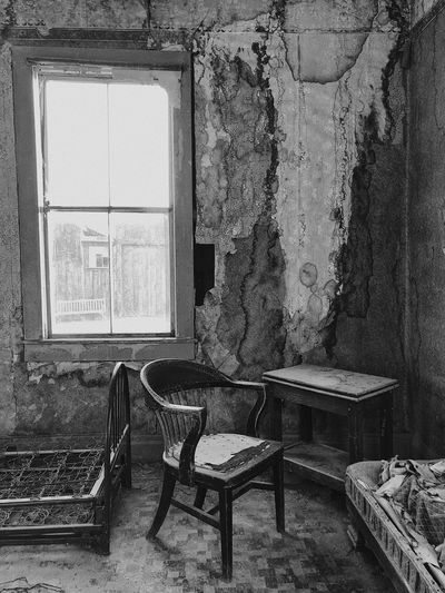 Window Abandoned Indoors  Day No People Architecture Home Interior Built Structure