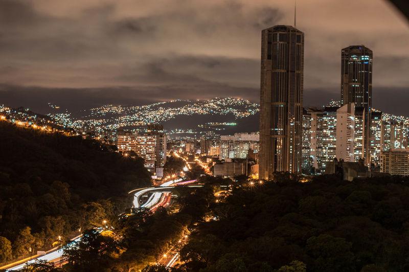 Caracas, always Caracas. LosIniciosML Caracas Venezuela EyeEmNewHere City Illuminated Cityscape Urban Skyline Arts Culture And Entertainment Sky Landscape California Dreamin This Is My Skin
