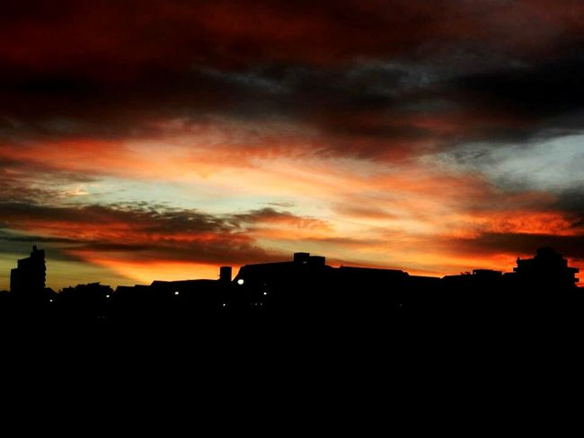 Sky Sunset View Villa Gesell Colors Summer Arte Photography Pintate tus colores, te pido que no llores""
