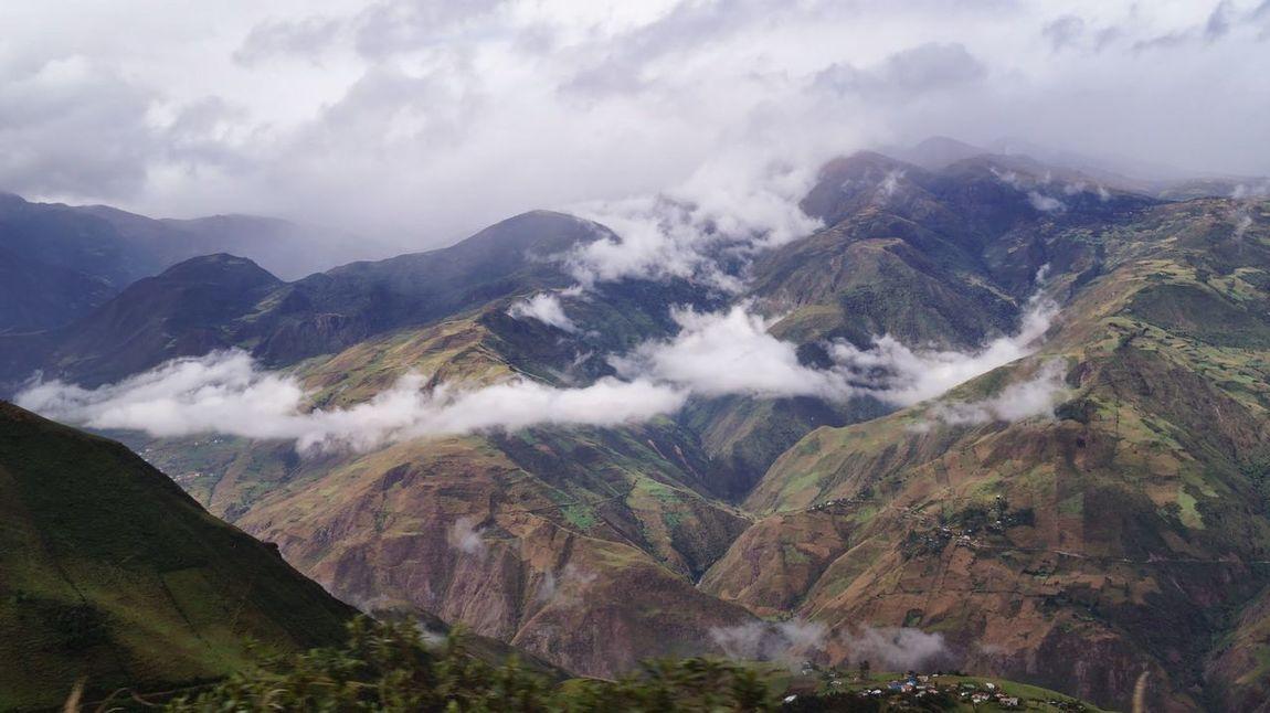 High Mountain Altitude Ecuador Cold Amazing View