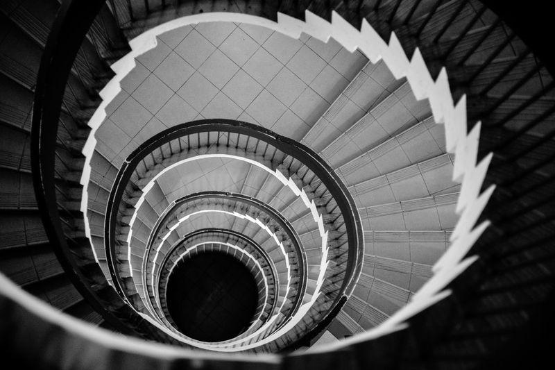Stairs B&w Urban Geometry Simplicity Streetphoto_bw Monochrome Blackandwhite Circular
