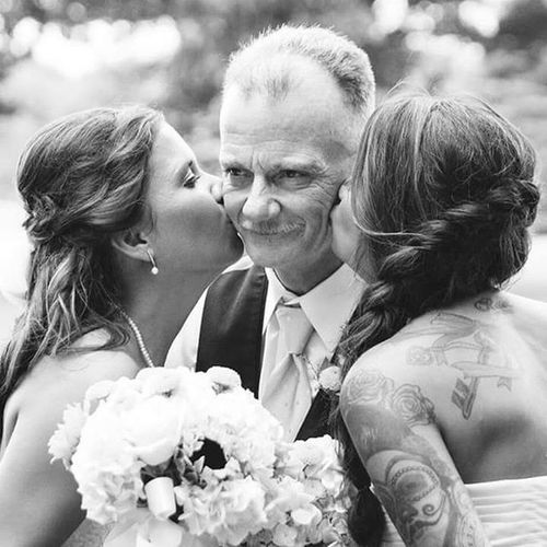 Just a Marine and his Daughters Myfirstlove  Militaryfamily MyDad