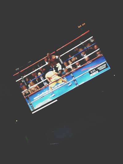 Watched Boxing Maywether Pacqiao