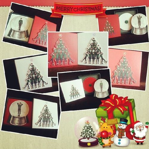 Yeaahh~~ thank you for the present!! Love it mak mak~ joop joop :* EXO Exomid Exoglobe Exomidglobe chanyeolglobe sehunglobe miracle december christmas present love ot12 chanyeol sehun happy