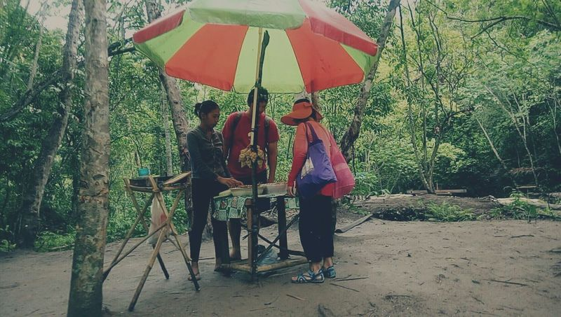 Feel The Journey Trees Vendor The Photojournalist - 2016 EyeEm Awards Original Experiences The Great Outdoors - 2016 EyeEm Awards Adventure Naturelover Philippines Samal Davao Nature Photography Umbrella Big Umbrella