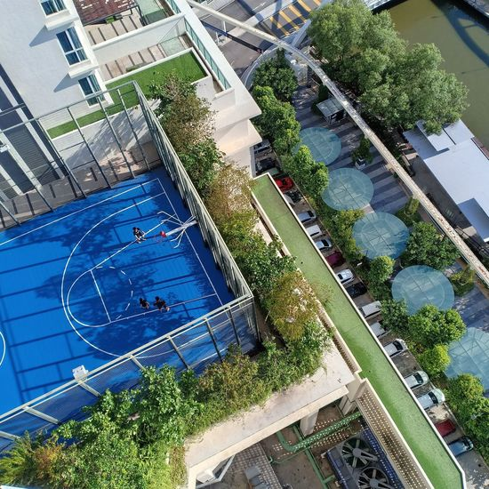 aerial view, Melaka (Oct, 2018) Water High Angle View Close-up Architecture Building Exterior