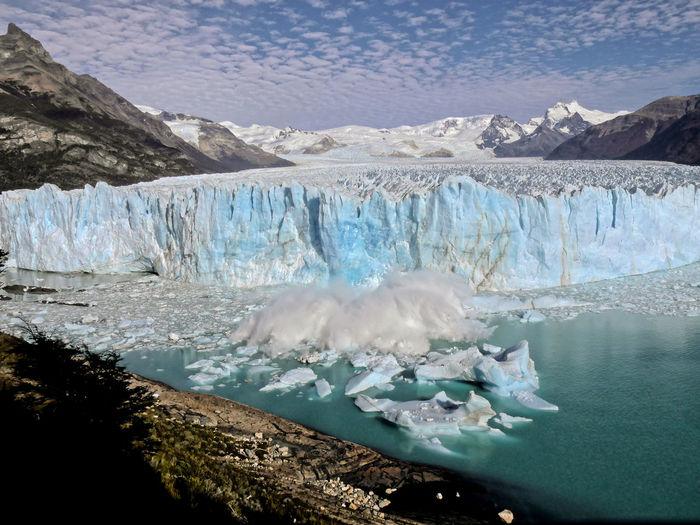 Photo taken in Perito Moreno, Argentina