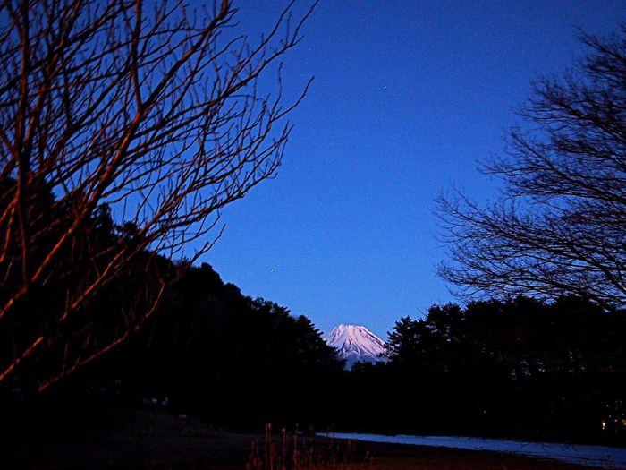 2017.02.05 本栖湖 富士山 三脚を使わなかったので、手ブレしてます。