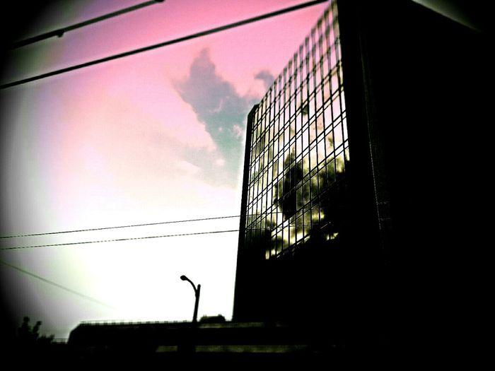 Pink sky,