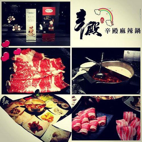 號稱鼎王吃到飽版本 辛殿 肉肉肉肉肉肉 麻辣鍋 Taipei Allyoucaneat Beef Spicy Hotpot